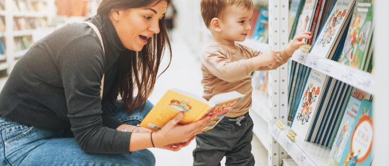Building Your Baby's Library: one book at a time
