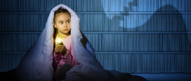 BOO! Who's Afraid of the Dark? Your Child and Sleeptime