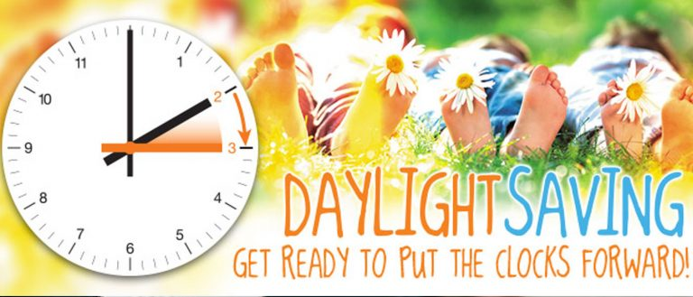 Daylight Savings Time and your Baby