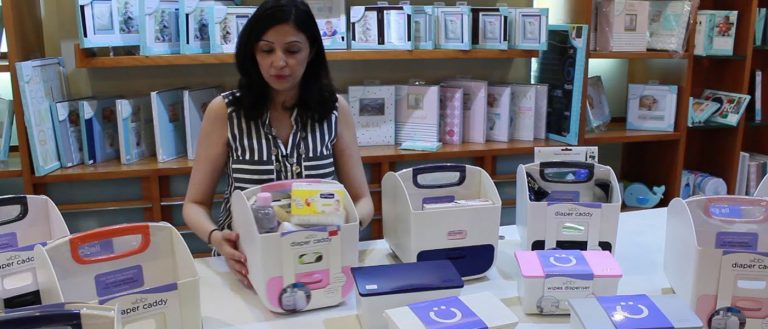 Ubbi's Diaper Caddy and Wipes Dispenser: multitasking made simple