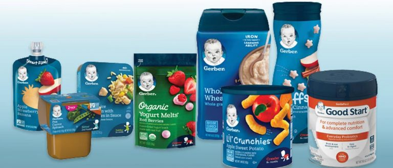 Gerber + American Farmers = Healthy Tasty Baby Food