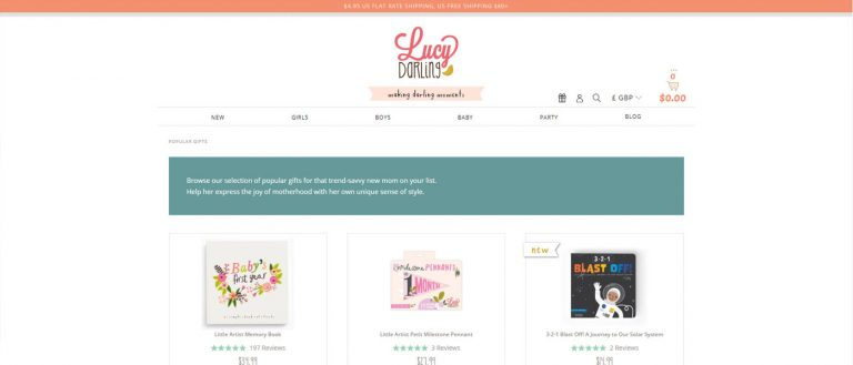 Lucy Darling Stickers for Your Baby's Milestones