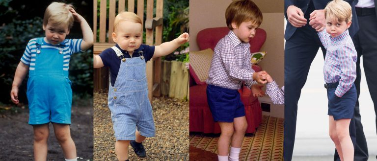 How Prince George's style is boosting the retro fashion industry