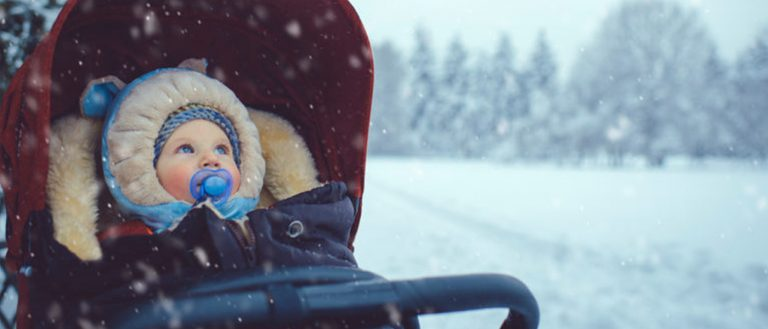 5 Winter Stroller Essentials for Your Baby