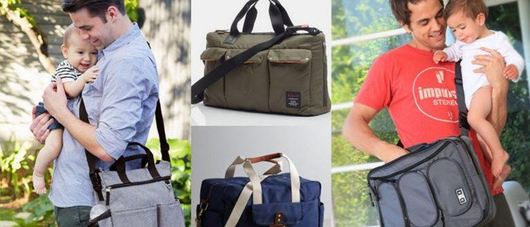 3 Stylish Diaper Bags for Men